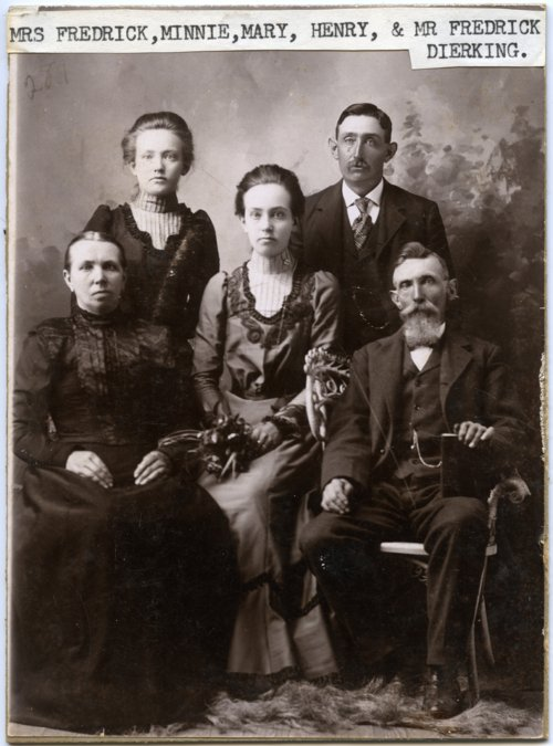 Dierking family, Alta Vista, Kansas - Page