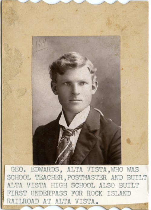 George Edwards, Alta Vista, Kansas - Page