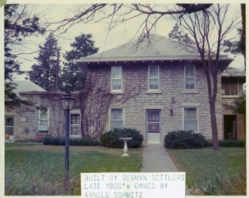 Bartholomew Buchli home in Alma, Kansas - Page