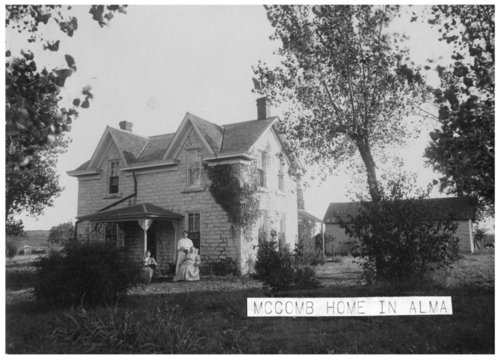 McComb residence in Alma, Kansas - Page
