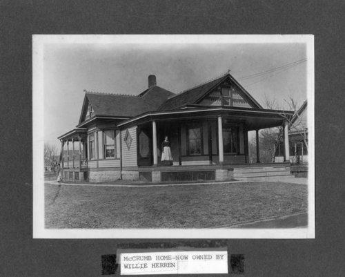 McCrumb residence in Alma, Kansas - Page