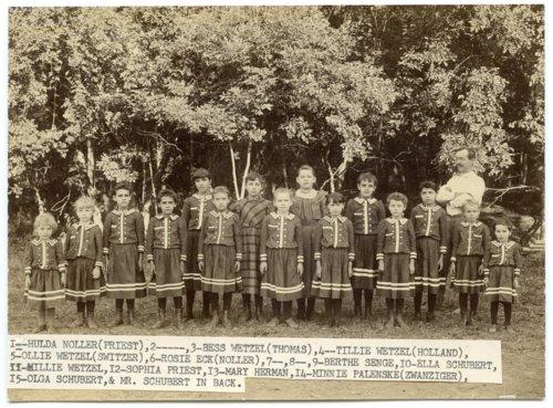 Catholic school group in Alma, Kansas - Page