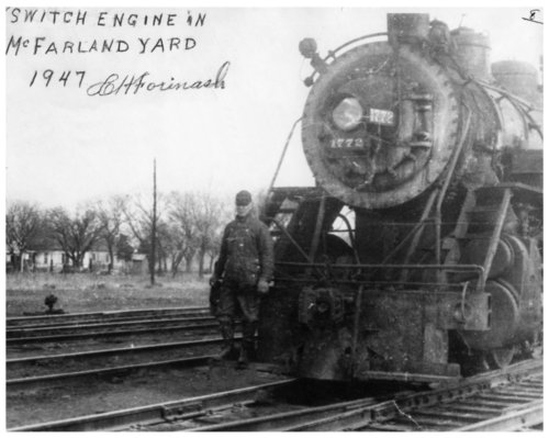 Chicago, Rock Island and Pacific switch engine in McFarland, Kansas - Page