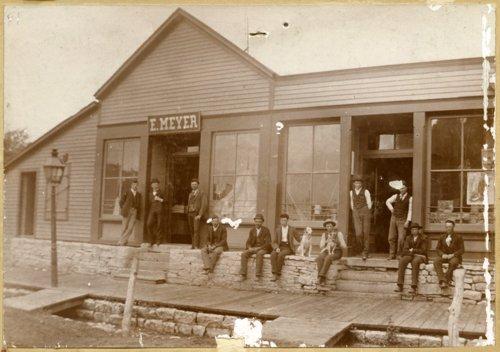 E. Meyer Store, Alma, Kansas - Page