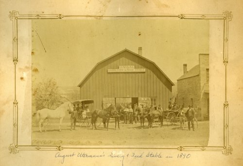 Central Livery Stable and Feed in Alma, Kansas - Page