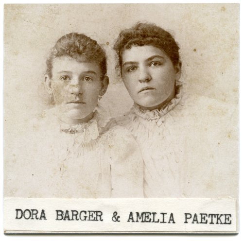 Dora Barger and Amelia Paetke - Page