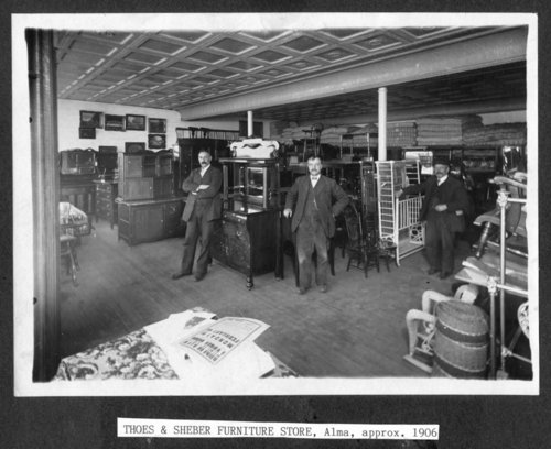 Thoes-Sheber Furniture Store, Alma, Kansas - Page