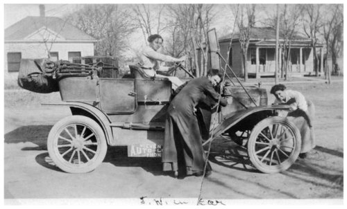McEwen's Auto Livery service vehicle, Alma, Kansas - Page