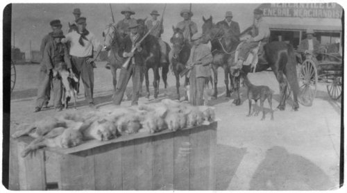 Coyote hunters in Alma, Kansas - Page