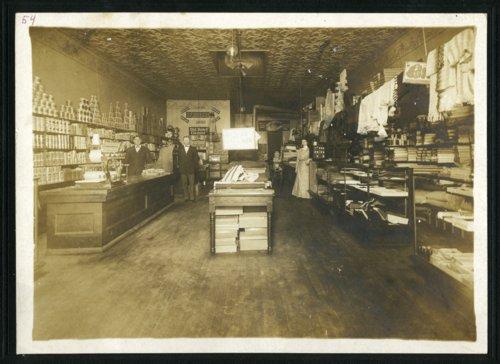W. E. Thowe Mercantile, Alma, Kansas - Page