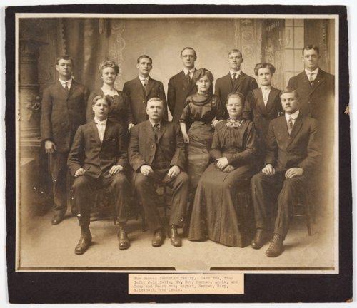 Herman Tenbrink family, Alma, Kansas - Page