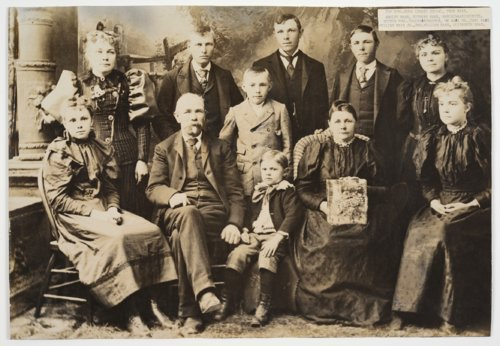 William Maas family, Alma, Kansas - Page