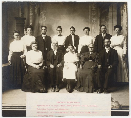 Peter Feiden family, Alma, Kansas - Page