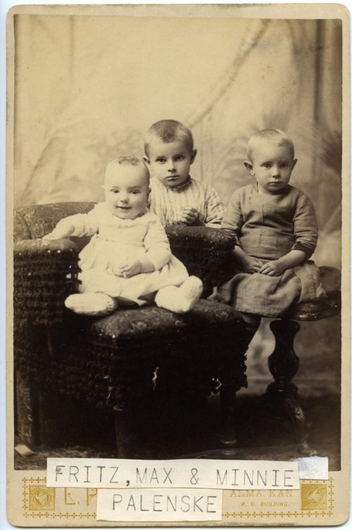 Palenske children, Alma, Kansas - Page