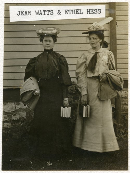 Jean Watts and Ethel Hess, Alma, Kansas - Page