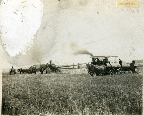 Threshing crew, Wabaunsee County, Kansas - Page
