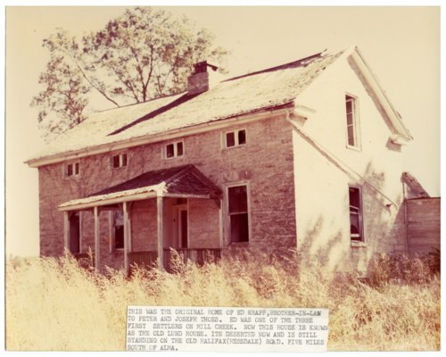 Ed Krapp homstead, Alma, Kansas - Page