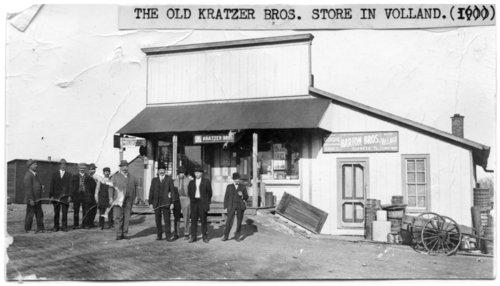 Kratzer store, Volland, Kansas - Page