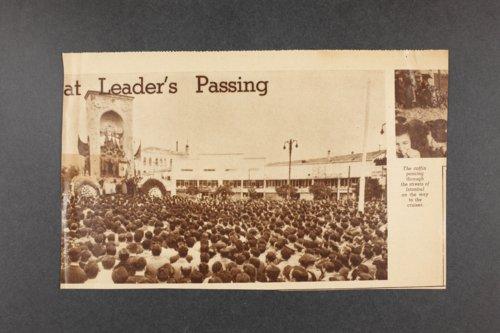 Robert Taft correspondence related to frontier artists, Landers - Metcalf - Page