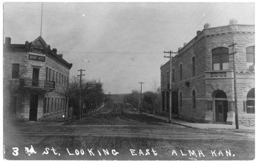 Business district, Alma, Kansas - Page