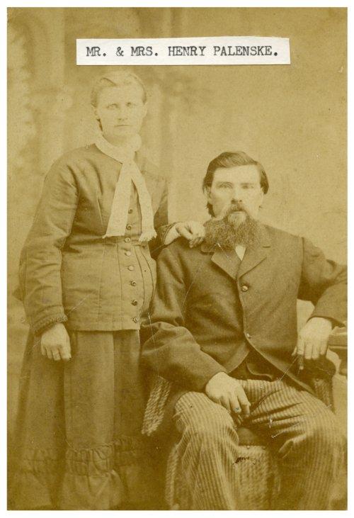 Mr. and Mrs. Henry Palenske - Page