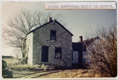 Hiner homestead, Wabaunsee County, Kansas - Page