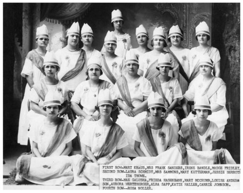 Rebekahs Lodge members, Alma, Kansas - Page