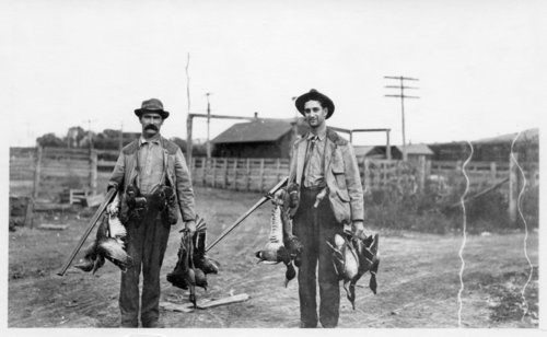 Duck hunting, Volland, Kansas - Page