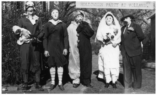 Halloween party at Volland, Kansas - Page