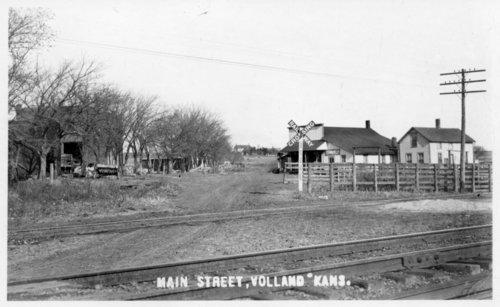 Main Street, Volland, Kansas - Page
