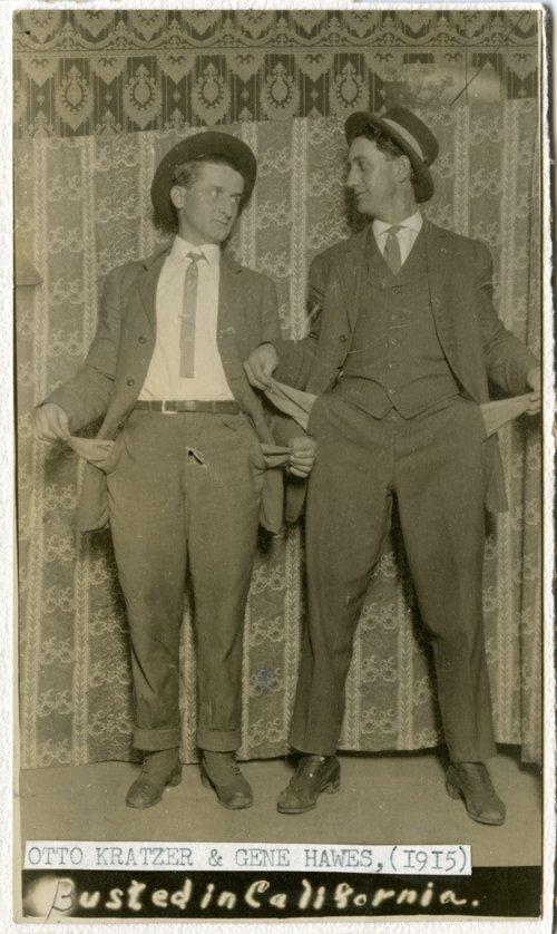 Otto Kratzer and Gene Hawes - Page