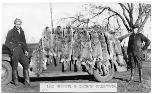 Coyote hunters, Volland, Kansas - Page