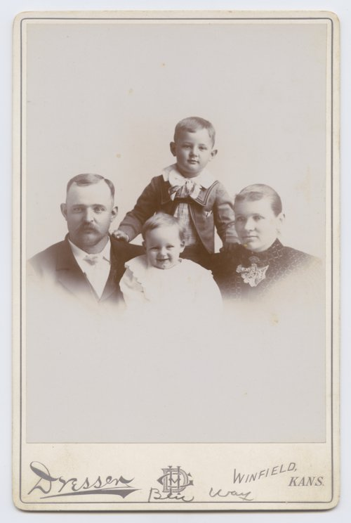 Ben Way and family - Page