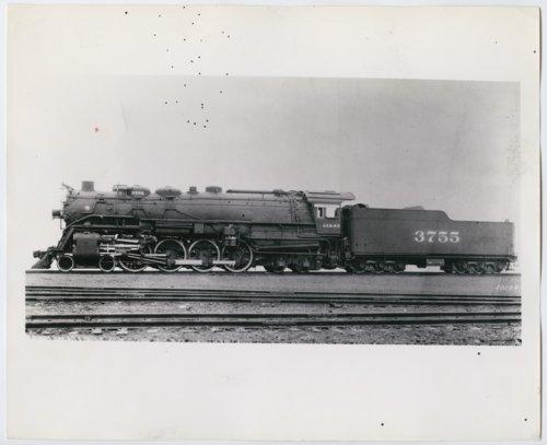 Atchison, Topeka & Santa Fe Railway Company's steam locomotive #3755 - Page