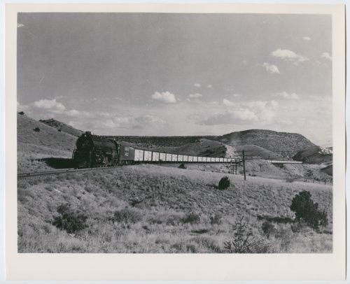 Atchison, Topeka & Santa Fe Railway Company's steam locomotive #5022 - Page