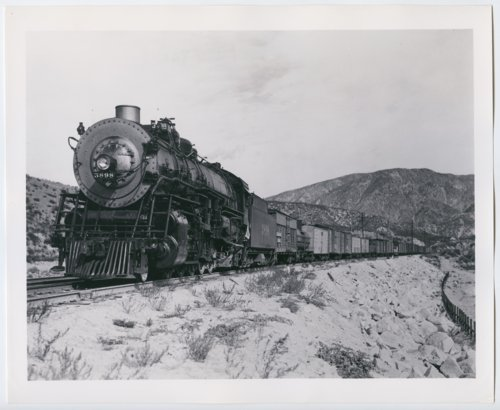 Atchison, Topeka & Santa Fe Railway Company's steam locomotive #3898 - Page