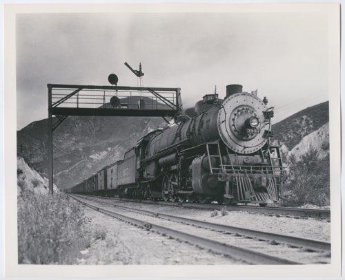 Atchison, Topeka & Santa Fe Railway Company's steam locomotive #3937 - Page
