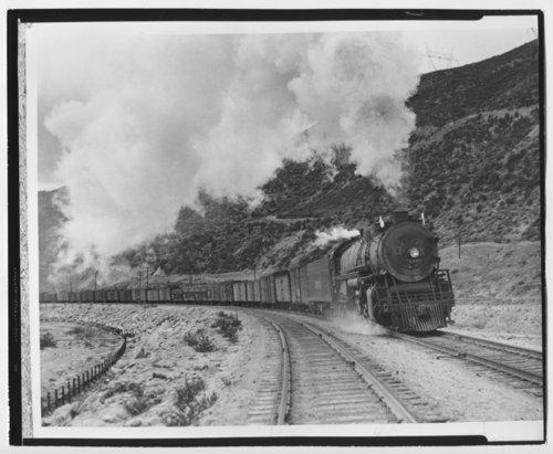 Atchison, Topeka & Santa Fe Railway Company's steam locomotive #3903 - Page