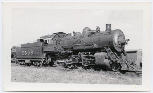 Atchison, Topeka & Santa Fe Railway Company's steam locomotive #2508 - Page