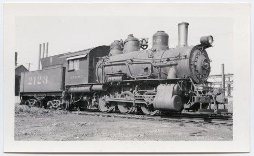 Atchison, Topeka & Santa Fe Railway Company's steam locomotive #2123 - Page