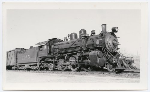 Atchison, Topeka & Santa Fe Railway Company's steam locomotive #1085 - Page