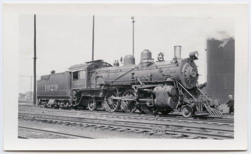 Atchison, Topeka & Santa Fe Railway Company's steam locomotive #1029 - Page