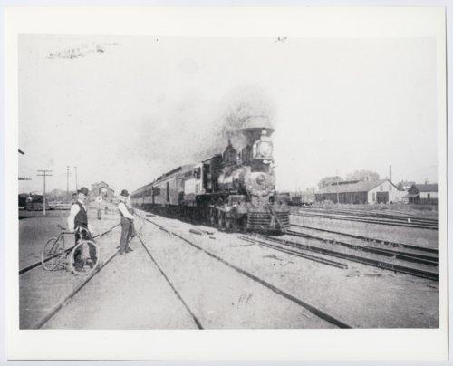 Atchison, Topeka & Santa Fe Railway Company's steam locomotive, New Mexico - Page