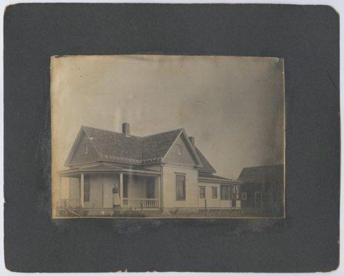 Johanna (Bohm) Jolitz and Lydia Berthe Jolitz's home in Talmage, Kansas - Page
