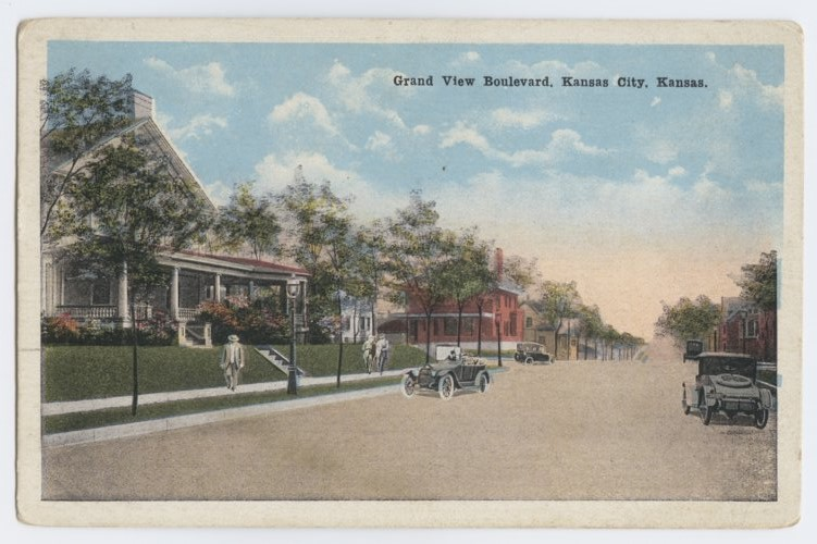Grand View Boulevard in Kansas City, Kansas - Page