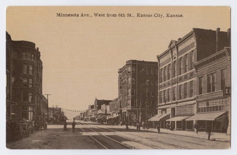 Minnesota Avenue, west from 6th Street in Kansas City, Kansas - Page