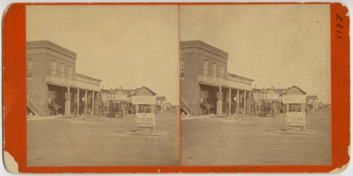 Street scene, Dodge City, Kansas - Page