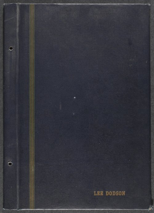Lee Dodson baseball scrapbook - Page