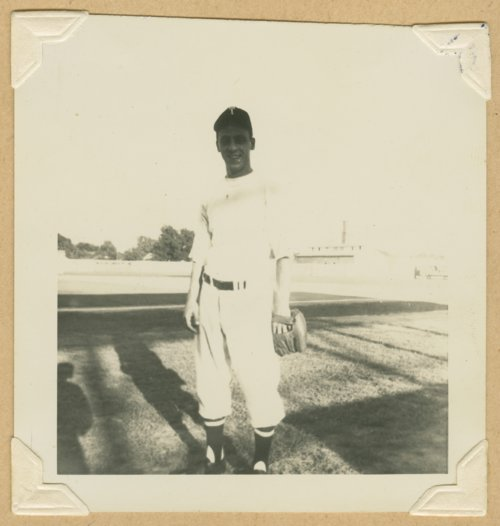 Fritz Luciano of the Topeka Owls baseball team - Page