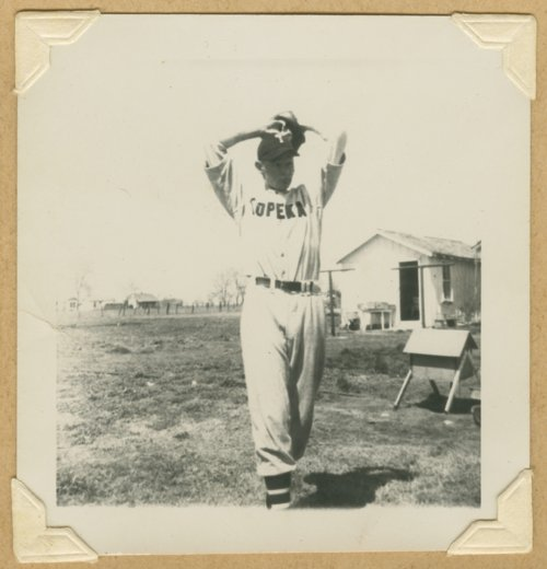 Pitcher Lee Dodson, Topeka, Kansas - Page